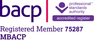membership logo for BACP